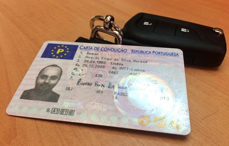 Comprar carta de condução