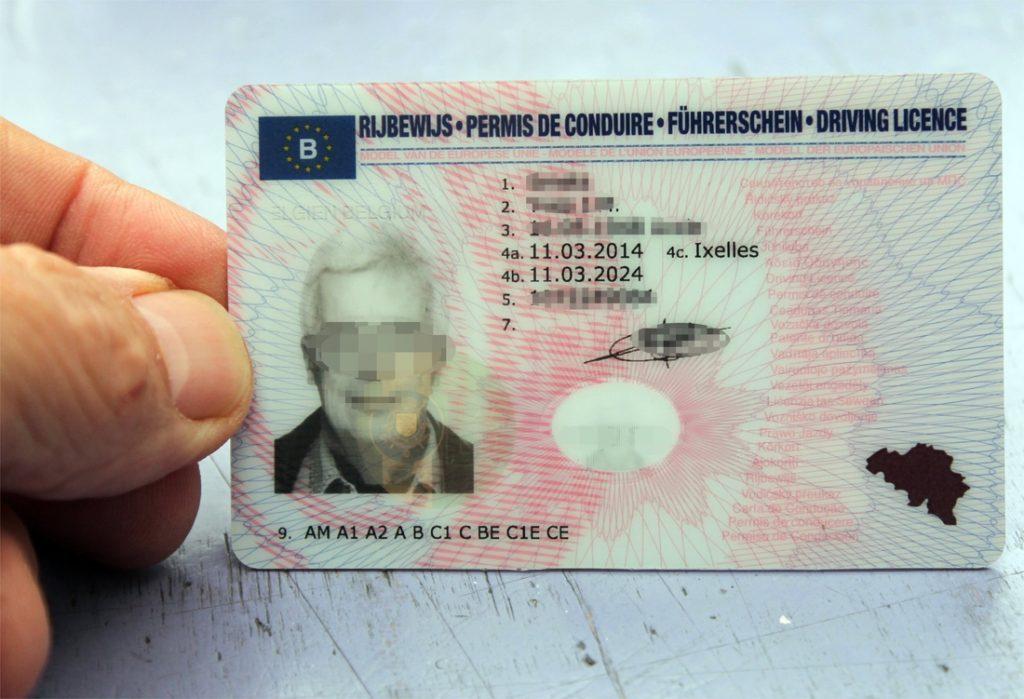 acheter permis de conduire en belgique